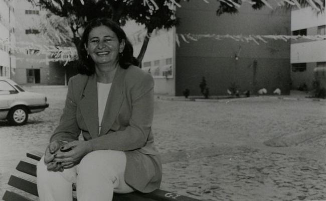 Marilena, 1ª árbitra e repórter esportiva