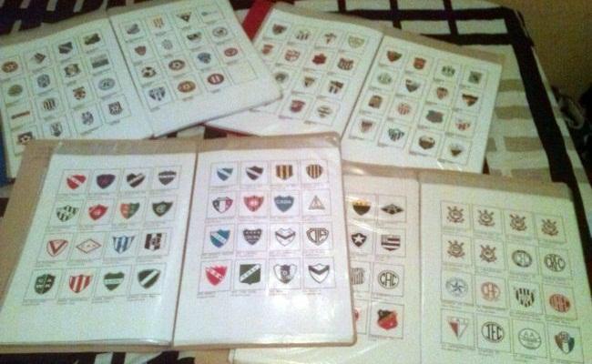 Colecionador tem 21.500 escudos de clubes