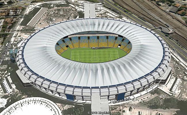 Visite em 3D estádios da Copa de 2014