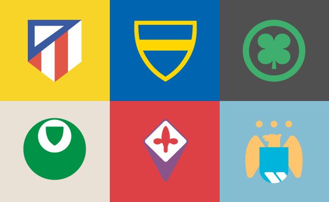 Adivinhe os escudos de 66 clubes do mundo
