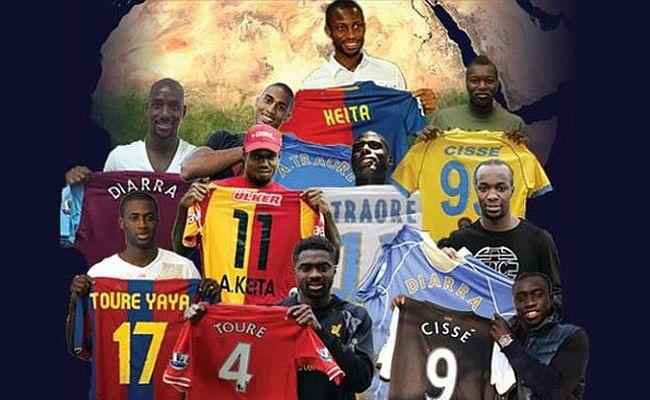 As famílias africanas do futebol mundial