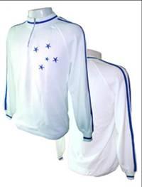 Camisa-retro-Cruzeiro-Meio-Fecho-Branca - Verminosos por Futebol 7bea299788169
