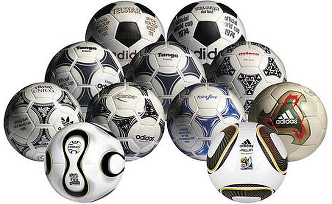 Adidas relança coleção de bolas da Copa