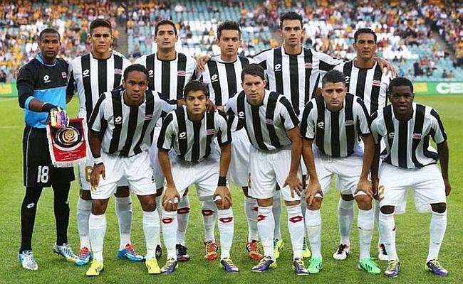 Costa Rica terá apoio de alvinegros em 2014