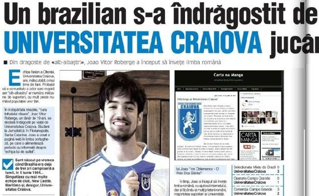 Brasileiro tem 60 camisas da Romênia. Deu a louca. Brasileiro é torcedor de  time da Romênia 0045d09a6c814