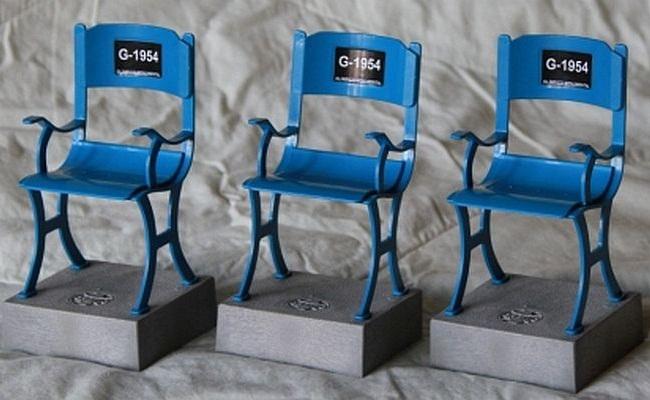 Lançada miniatura de cadeira do Olímpico