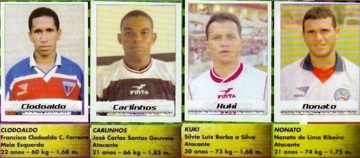 Copa do Nordeste já teve álbum em 2001