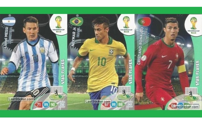Cards da Copa serão vendidos no Brasil