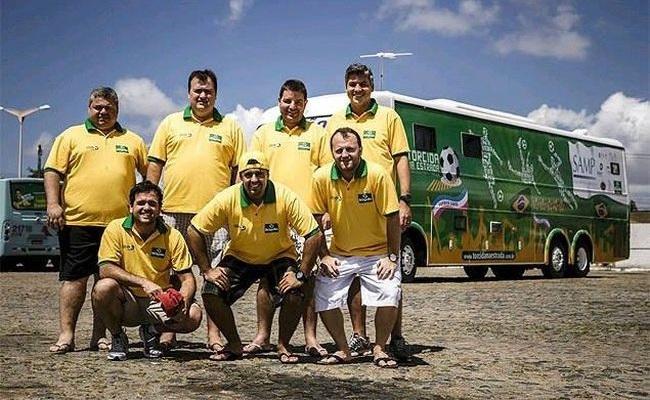 10 amigos viajarão a Copa em motorhome