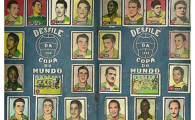 Seleção brasileira nos álbuns desde 1950