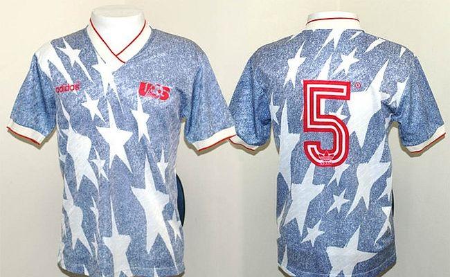 Todos os uniformes da Copa de 1994