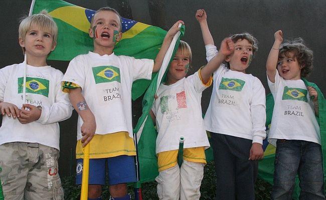 Sul-africanos aprenderam hino do Brasil