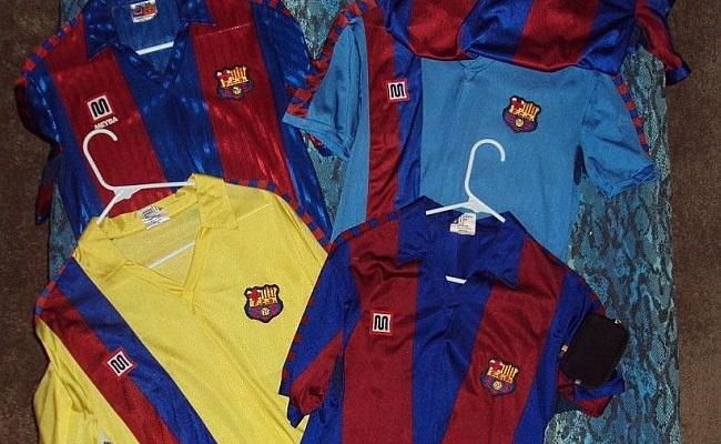 No tempo em que o Barça vestia Meyba