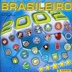 O álbum da Panini do Brasileirão de 2002 trouxe 11 jogadores de cada um dos 26 clubes (Foto: Divulgação)