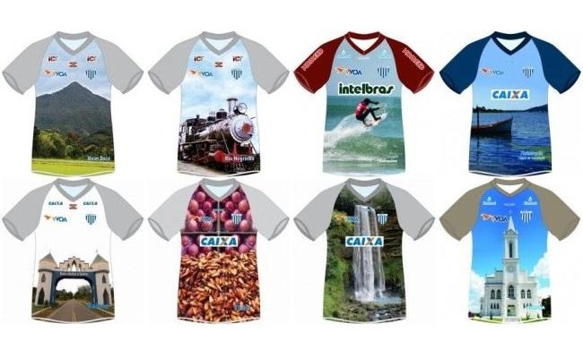 Avaí homenageia cidades de SC em camisas