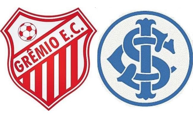 Times amadores capricham nos nomes. Deu a louca. Grêmio vermelho e Inter  azul  É 50e66c19af0f7