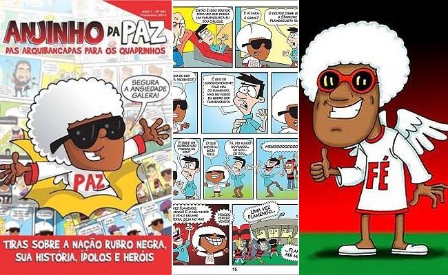 Anjinho do Flamengo lança quadrinhos