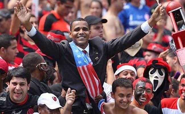 Futebol fez fama de sósia de Barack Obama