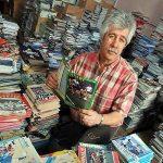 Steve Earl fez do hobby um negócio. Por isso, todo o acervo que atualmente conta com 1 milhão de programas de jogo está à venda (Foto: Andy Darnell/Beccles & Bungay Journal)