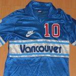 Nike teve seu começo no futebol no fim da década de 1970, na NASL, liga dos EUA (Foto: NASL Jerseys)