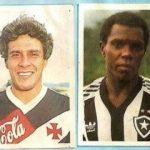 Álbum de figurinhas do Carioca 1988 contou com Zico, Dinamite, Cláudio Adão e Washington (Foto: Reprodução)