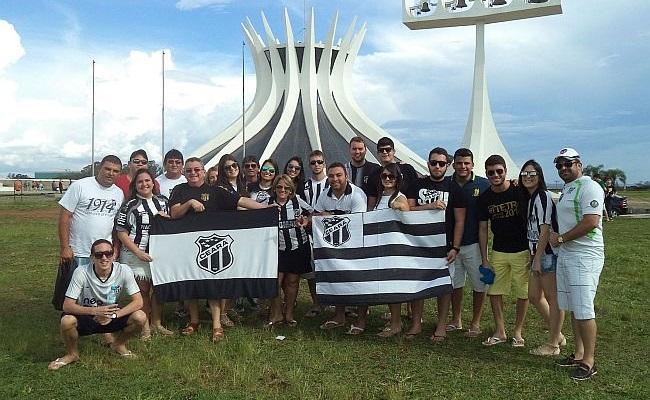 O dia que torcida do Ceará invadiu Brasília