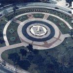 Você sabia que uma praça de São Paulo exibe 17 escudos de times? (Foto: São Paulo para Curiosos)