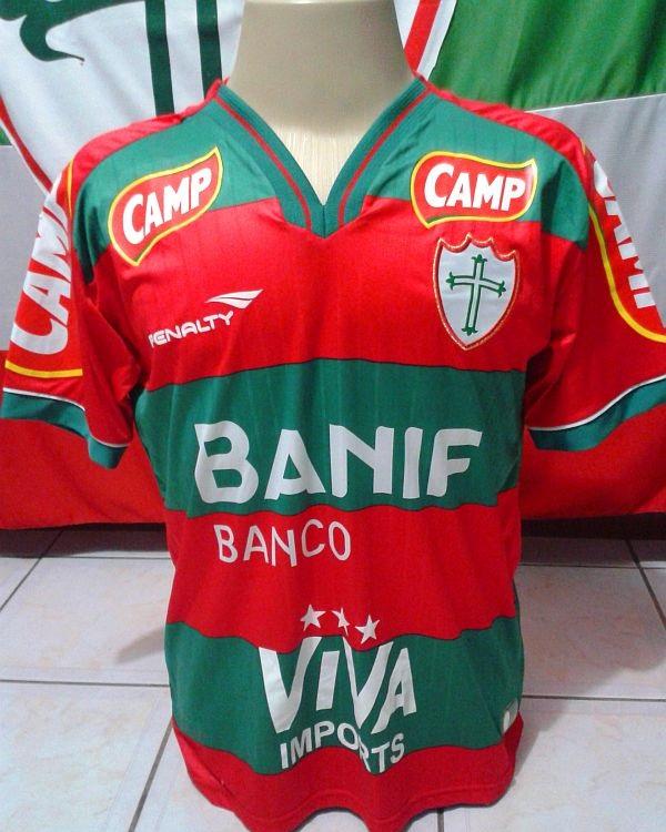 Torcedor da Portuguesa tem mais de 100 camisas dd4975b7b7c86