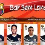 O Bar Sem Lona é um time amador do Rio de Janeiro com curioso trocadilho no nome (Foto: Divulgação)