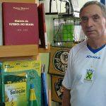 José Reinaldo Pontes é proprietário da Livraria Pontes, de Campinas-SP, que possui o maior acervo de livros sobre futebol à venda no país (Foto: Acervo pessoal)