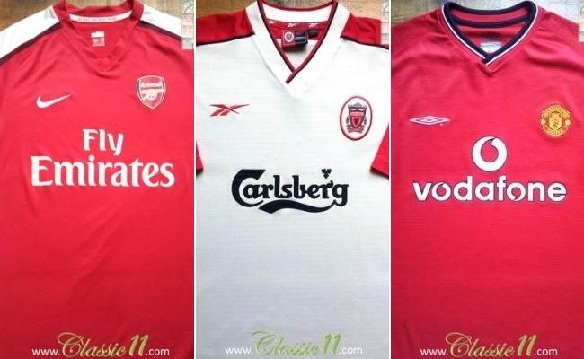 Concorra a camisa antiga de time inglês
