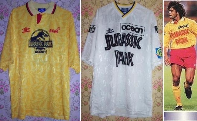 Jurassic Park já estampou camisa de time