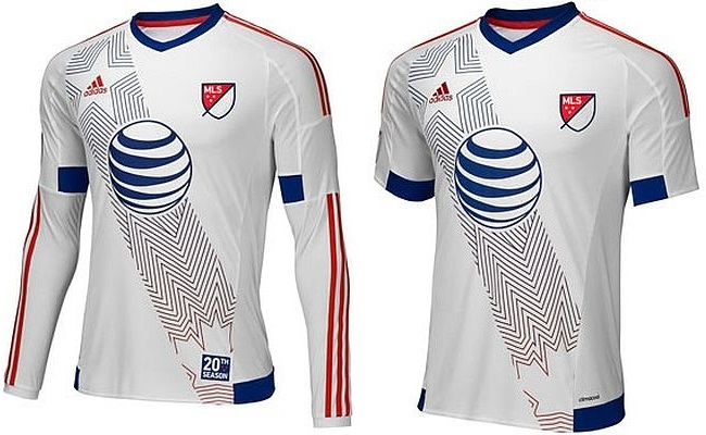Camisa do MLS All-Star 2015 está à venda