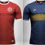 Emilio Sansolini criou 20 camisas retrô com a logomarca antiga de Adidas ou Nike (Foto: Divulgação)