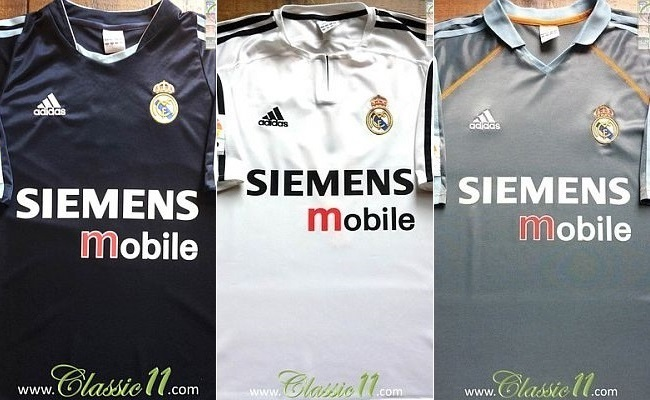 Concorra a camisa do Real Madrid 2003/04