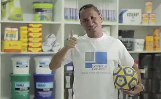 Clodoaldo estrela propaganda divertida