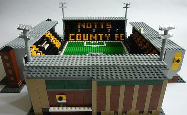 Site vende miniaturas de estádios em Lego
