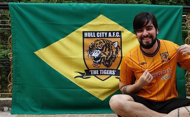 Brasileiro tem coleção do Hull City
