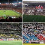 Flamengo, Corinthians, Atlético-MG e Bahia: melhores médias de público na história do Brasileirão (Foto: Reprodução)