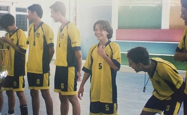 Safadão foi craque no esporte colegial