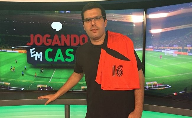 Jornalista do Esporte Interativo já foi jogador