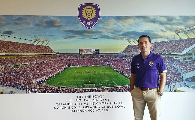 Marcos Peres é hoje diretor do Orlando
