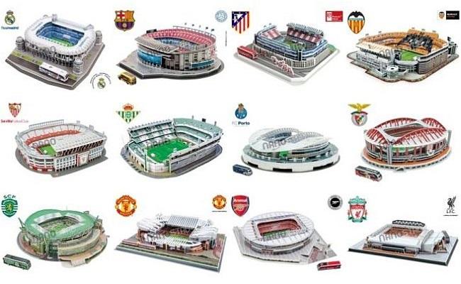 Nanostad lança 12 miniaturas de estádios