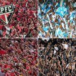 O São Paulo possui a melhor média de público dentre clubes brasileiros na Copa Libertadores, seguido de Paysandu, Internacional e Corinthians (Foto: Reprodução)