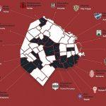 Buenos Aires conta com 29 clubes nas cinco principais divisões argentinas (Foto: Reprodução)