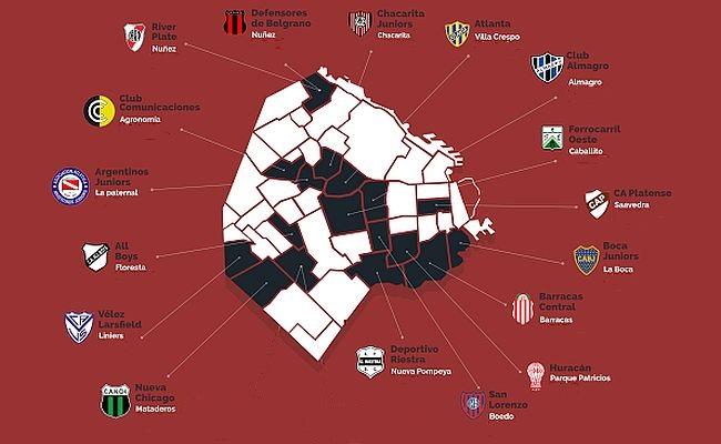 Em Buenos Aires, cada esquina tem um time