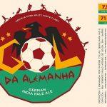 As cervejarias 2cabeças e Aeon lançaram em 2015 a cerveja Gol da Alemanha (Foto: Divulgação)
