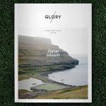 A revista inglesa Glory estampou na 1ª edição o futebol das Ilhas Faroé (Foto: Glory Magazine)