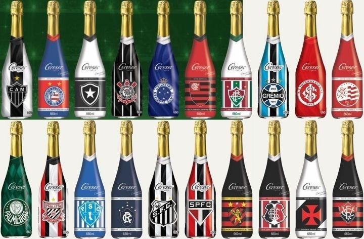 Quer festejar? Sidra Cereser tem linha de bebidas de times