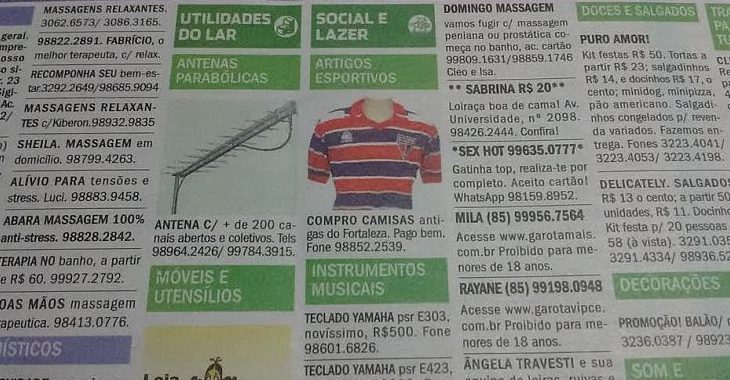 Colecionador garimpa camisas do Fortaleza com anúncio em jornal